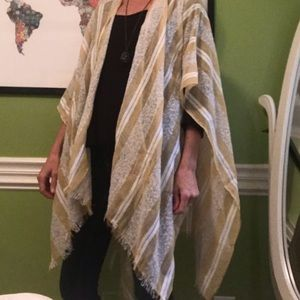 Urban Outfitters open poncho wrap